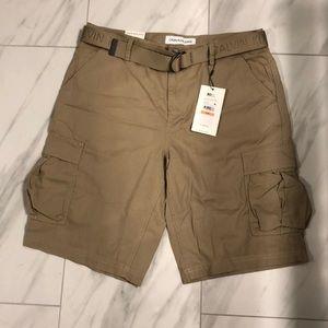 NWT Men's Calvin Klein Cargo Shorts